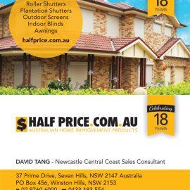 Half Price Shutters